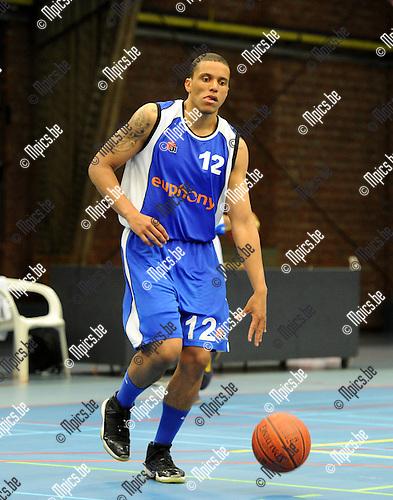 2012-09-04 / Basketbal / seizoen 2012-2013 / Kangoeroes-Boom 2 / Kabo 2 / Enoch Derby..Foto: Mpics.be