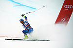 December 1, 2017:  Team USA's, Sam Morse #61, celebrates a strong effort in the Super G competition during the FIS Audi Birds of Prey World Cup, Beaver Creek, Colorado.