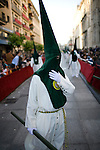 Hooded penitent, Holy Week 2008, Seville, Spain
