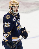 Steven Fogarty (ND - 26) - The visiting University of Notre Dame Fighting Irish defeated the Boston College Eagles 7-2 on Friday, March 14, 2014, in the first game of their Hockey East quarterfinals matchup at Kelley Rink in Conte Forum in Chestnut Hill, Massachusetts.