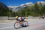 Nickolas Zukowsky (CAN) in action during the Men U23 Road Race of the 2018 UCI Road World Championships running 179.5km from Wattens to Innsbruck, Innsbruck-Tirol, Austria 2018. 28th September 2018.<br /> Picture: Innsbruck-Tirol 2018 | Cyclefile<br /> <br /> <br /> All photos usage must carry mandatory copyright credit (© Cyclefile | Innsbruck-Tirol 2018)