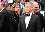 "72nd edition of the Cannes Film Festival in Cannes in Cannes, southern France on January 5, 2019. - Day 11 - Red carpet for the screening of the film ""Sibyl"".  Christoph Waltz<br /> © Pierre Teyssot / Maxppp"