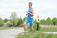 TRIATHLON: HEERENVEEN: 23-05-2015, CLAFIS Triathlon Heerenveen, Olympische klasse, ©foto Martin de Jong