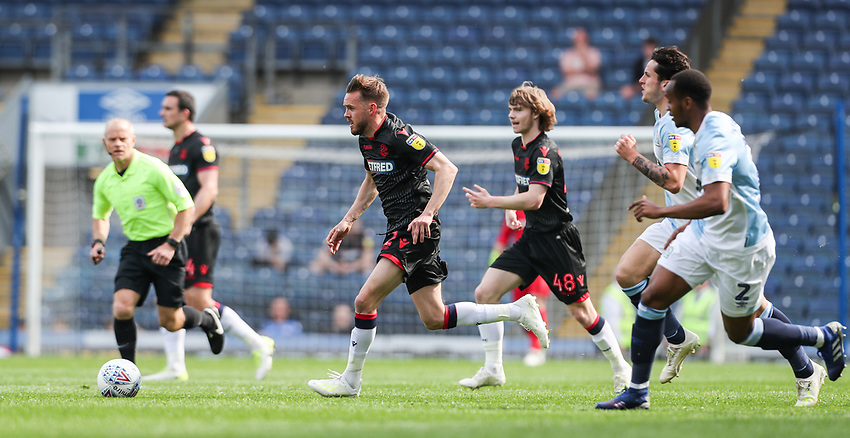 Bolton Wanderers' Craig Noone breaks<br /> <br /> Photographer Andrew Kearns/CameraSport<br /> <br /> The EFL Sky Bet Championship - Blackburn Rovers v Bolton Wanderers - Monday 22nd April 2019 - Ewood Park - Blackburn<br /> <br /> World Copyright © 2019 CameraSport. All rights reserved. 43 Linden Ave. Countesthorpe. Leicester. England. LE8 5PG - Tel: +44 (0) 116 277 4147 - admin@camerasport.com - www.camerasport.com