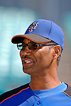 15 March 2006: Jerry Manuel, coach for the New York Mets, on the field prior to a Spring Training game against the Washington Nationals. The Mets defeated the Nationals 8-5 at Space Coast Stadium, in Viera, Florida...Mandatory Photo Credit: Ed Wolfstein..