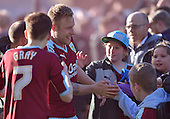 02/05/16 Sky Bet League Championship  Burnley v QPR<br /> Scott Arfield with Joe Skinner