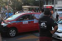 PORTO ALEGRE,RS, 07.03.2017 - PROTESTO-UBER - Cerca de mil motoristas do aplicativo uber protestam pela morte de um colega em Porto Alegre na tarde desta terça-feira, 07 (Foto: Naian Meneghetti/Brazil Photo Press)