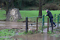 07/01/16<br /> <br /> Flooding at Clifton goal, Ashbourne, Derbyshire.<br /> <br /> All Rights Reserved: F Stop Press Ltd. +44(0)1335 418365   +44 (0)7765 242650 www.fstoppress.com