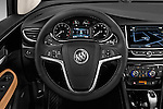 Car pictures of steering wheel view of a 2017 Buick Encore Premium 5 Door SUV Steering Wheel