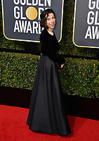 Sally Hawkins at the 75th Annual Golden Globe Awards at the Beverly Hilton Hotel, Beverly Hills, USA 07 Jan. 2018<br /> Picture: Paul Smith/Featureflash/SilverHub 0208 004 5359 sales@silverhubmedia.com