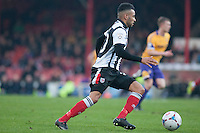 Nathan Arnold of Grimsby Town<br />  - Grimsby Town vs Kidderminster Harriers - Vanarama Conference Football at Blundell Park, Cleethorpes, Lincolnshire - 22/11/14 - MANDATORY CREDIT: Mark Hodsman/TGSPHOTO - Self billing applies where appropriate - contact@tgsphoto.co.uk - NO UNPAID USE