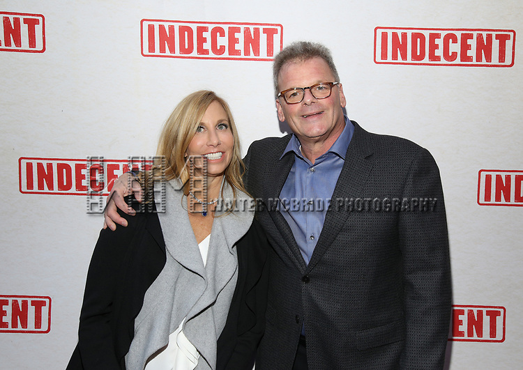 attends the Broadway Opening Night Performance of  'Indecent' at The Cort Theatre on April 18, 2017 in New York City.
