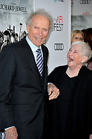 "LOS ANGELES, USA. November 21, 2019: Clint Eastwood & Barbara Bobi Jewell at the world premiere for ""Richard Jewell"" as part of the AFI Fest 2019 at the TCL Chinese Theatre.<br /> Picture: Paul Smith/Featureflash"
