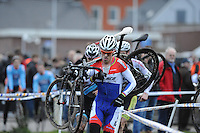 WIELRENNEN: SURHUISTERVEEN: 03-01-2013, 18e Centrumcross, Lars Boom, ©foto Martin de Jong