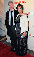 "NEW YORK, NY - NOVEMBER 12: Martin Sixsmith, Philomena Lee at the New York Premiere Of The Weinstein Company's ""Philomena"" held at Paris Theater on November 12, 2013 in New York City. (Photo by Jeffery Duran/Celebrity Monitor)"