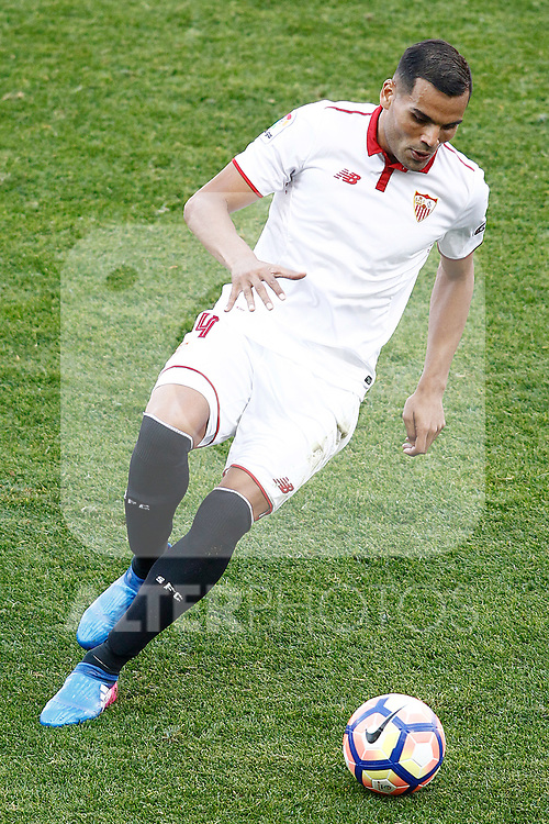 Sevilla FC's Gabriel Mercado during La Liga match. March 19,2017. (ALTERPHOTOS/Acero)