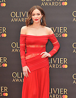 Katharine McPhee at the Olivier Awards 2019, Royal Albert Hall, Kensington Gore, London, England, UK, on Sunday 07th April 2019.<br /> CAP/CAN<br /> ©CAN/Capital Pictures
