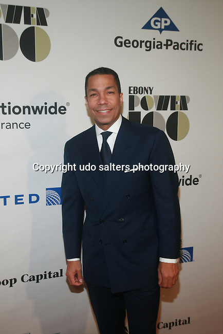 Honoree Goldman Sachs Managing Director Valentino D. Carlotti Attends the EBONY® Magazine's inaugural EBONY Power 100 Gala Presented by Nationwide Insurance at New York City's Jazz at Lincoln Center's Frederick P. Rose Hall,   11/2/12