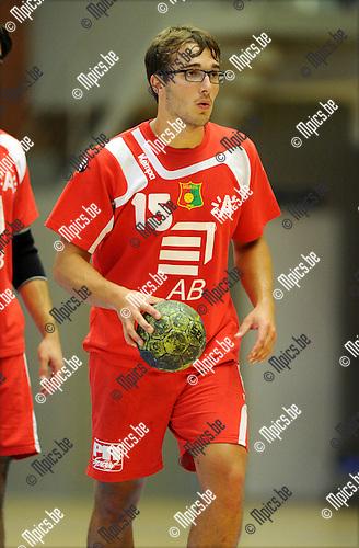 2011-09-10 / Handbal / seizoen 2011-2012 / Sasja Antwerpen / Mats de Coster..Foto: Mpics