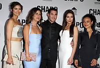 19 April 2017 - Los Angeles, California - Abril Schreiber, Valentina Acosta, Marco De La O, Juliette Pardau and Tete Espinoza. Univision's 'El Chapo' Original Series Premiere Event held at The Landmark Theatre. Photo Credit: AdMedia