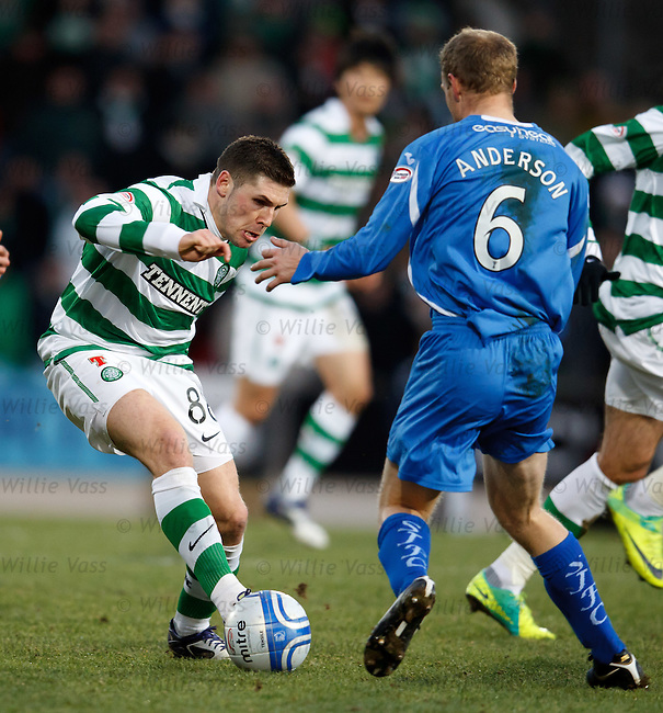 Gary Hooper and Steven Anderson