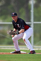Minnesota Twins Kolton Kendrick (26) during an instructional league game against the Boston Red Sox on September 26, 2015 at CenturyLink Sports Complex in Fort Myers, Florida.  (Mike Janes/Four Seam Images)