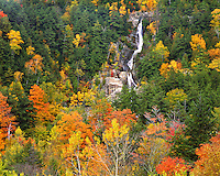 Roaring Brook Falls; Giant Mountain Wilderness; Adirondack and Preserve, NY