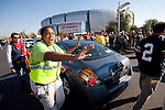 01/09/2011 - Fans tailgate before the BCS National Championship game in Scottsdale, Arizona.