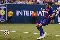 EAST RUTHERFORD, USA, 22.07.2017 - JUVENTUS-BARCELONA - Luis Soarez do Barcelona durante partida contra Juventus valido pela  International Champions Cup 2017 no MetLife Stadium na cidade de East Rutherford, New Jersey. (Foto: Vanessa Carvalho/Brazil Photo Press)