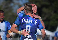 Men's cup final between Tasman and Counties on day two of the 2018 Bayleys National Sevens at Tauranga Domain in Tauranga, New Zealand on Sunday, 16 December 2018. Photo: Dave Lintott / lintottphoto.co.nz