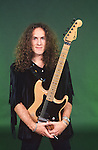 Various portrait sessions of rock guitarist Vivian Campbell