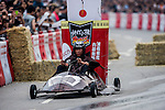 Competitors in action during the Red Bull Soapbox on June 14, 2012 in Hong Kong. Photo by Victor Fraile / The Power of Sport Images