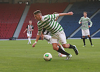 Paul George in the Dunfermline Athletic v Celtic Scottish Football Association Youth Cup Final match played at Hampden Park, Glasgow on 1.5.13.
