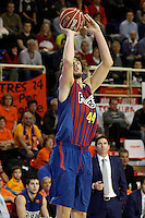 FC Barcelona Regal's Ante Tomic during Liga Endesa ACB match.November 18,2012. (ALTERPHOTOS/Acero) NortePhoto