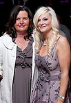 Sarah Brady celebrating her 40th in Bru, with Mairead Campbell..Picture: Shane Maguire / www.newsfile.ie.