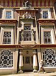 The Egyptian House bult 1835, Chapel Street,  Penzance, Cornwall, England, UK