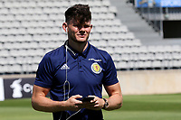 Oliver Burke of Scotland walks around the pitch pre-match during England Under-18 vs Scotland Under-20, Toulon Tournament Semi-Final Football at Stade Parsemain on 8th June 2017