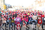 Jingle Bell Run: Participants, prior to departure,  taking part in the Jingle Bell Run, organised by the Kerry Crusaders in Listowel on Sunday last.