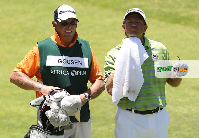 EAST LONDON, SOUTH AFRICA - JANUARY 07, Retief Goosen during day 3 of the Africa Open at East London Golf Club on January 07, 2012 on East London, South Africa..Photo by Luke Walker www.golffile.ie