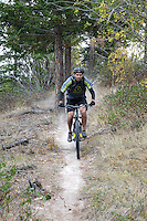 """""""Dust to Glory"""" is a new singletrack trail connecting Echo Ridge's """"Far East"""" with """"North Junction."""