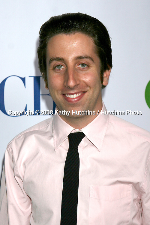 SIMON HELBERG arriving at the CBS TCA Summer 08 Party at Boulevard 3 in Los Angeles, CA on.July 18, 2008.©2008 Kathy Hutchins / Hutchins Photo .
