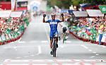 Philippe Gilbert (BEL) Deceuninck-Quick Step wins Stage 12 of La Vuelta 2019 running 171.4km from Circuito de Navarra to Bilbao, Spain. 5th September 2019.<br /> Picture: Yuzuru Sunada | Cyclefile<br /> <br /> All photos usage must carry mandatory copyright credit (© Cyclefile | Yuzuru Sunada)