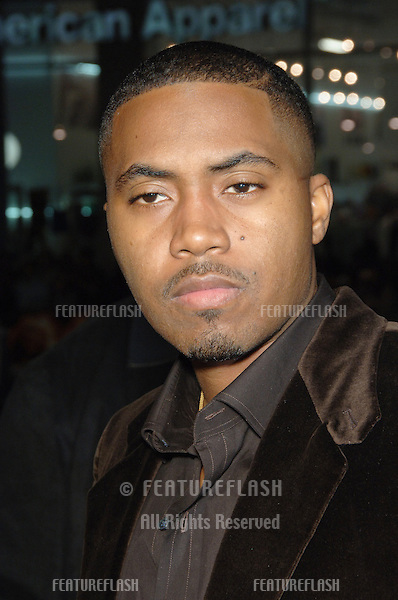 "NAS at the Los Angeles premiere of ""Blood Diamond"" at Grauman's Chinese Theatre, Hollywood..December 6, 2006  Los Angeles, CA.Picture: Paul Smith / Featureflash"