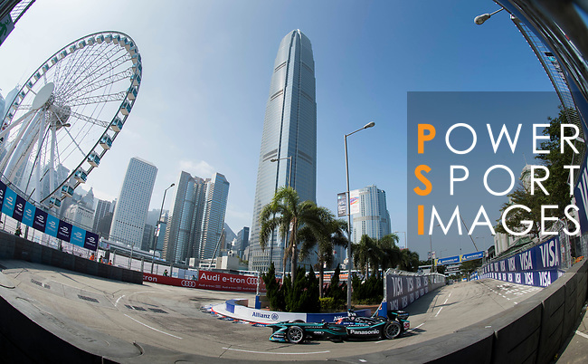 Mitch Evans of New Zealand from Panasonic Jaguar Racing competes in the Formula E Qualifying Session 2 during the FIA Formula E Hong Kong E-Prix Round 2 at the Central Harbourfront Circuit on 03 December 2017 in Hong Kong, Hong Kong. Photo by Victor Fraile / Power Sport Images