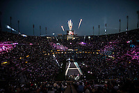AMBIENCE<br /> The US Open Tennis Championships 2014 - USTA Billie Jean King National Tennis Centre -  Flushing - New York - USA -   ATP - ITF -WTA  2014  - Grand Slam - USA  <br /> <br /> 25th August 2014 <br /> <br /> &copy; AMN IMAGES