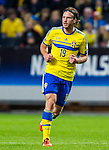 Solna 2015-10-12 Fotboll EM-kval , Sverige - Moldavien :  <br /> Sveriges Gustav Svensson under matchen mellan Sverige och Moldavien <br /> (Photo: Kenta J&ouml;nsson) Keywords:  Sweden Sverige Solna Stockholm Friends Arena EM Kval EM-kval UEFA Euro European 2016 Qualifying Group Grupp G Moldavien Moldova portr&auml;tt portrait