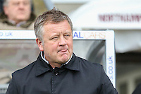 Chris Wilder (Manager) of Northampton Town during the Sky Bet League 2 match between Northampton Town and Morecambe at Sixfields Stadium, Northampton, England on 23 January 2016. Photo by David Horn / PRiME Media Images.