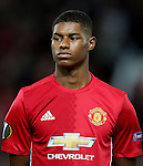 Marcus Rashford of Manchester United during the UEFA Europa League match at Old Trafford Stadium, Manchester. Picture date: September 29th, 2016. Pic Matt McNulty Sportimage
