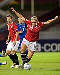Ingvild Isaksen, Women's EURO 2009 in Finland.Iceland-Norway, 08272009, Lahti