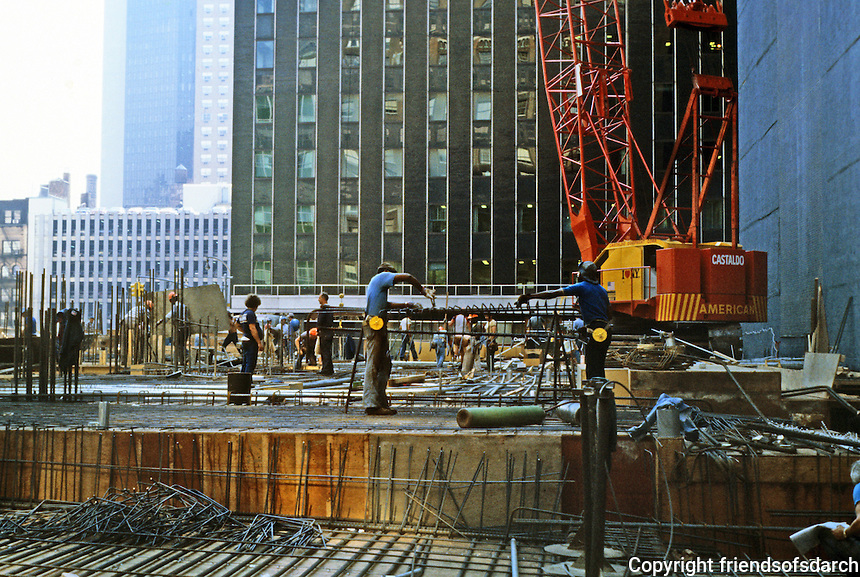 New York: Construction site--E. 42nd St.